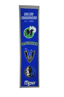 Dallas Mavericks Wool Banner 8