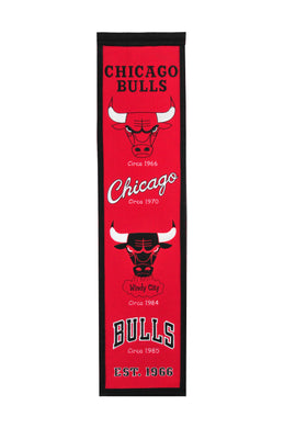 Chicago Bulls Heritage Wool Banner 8