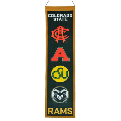 Colorado State Rams Heritage Banner - 8