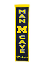 "Michigan Wolverines Man Cave Banner - 8""x32"""