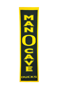 "Oregon Ducks Man Cave Banner - 8""x32"""