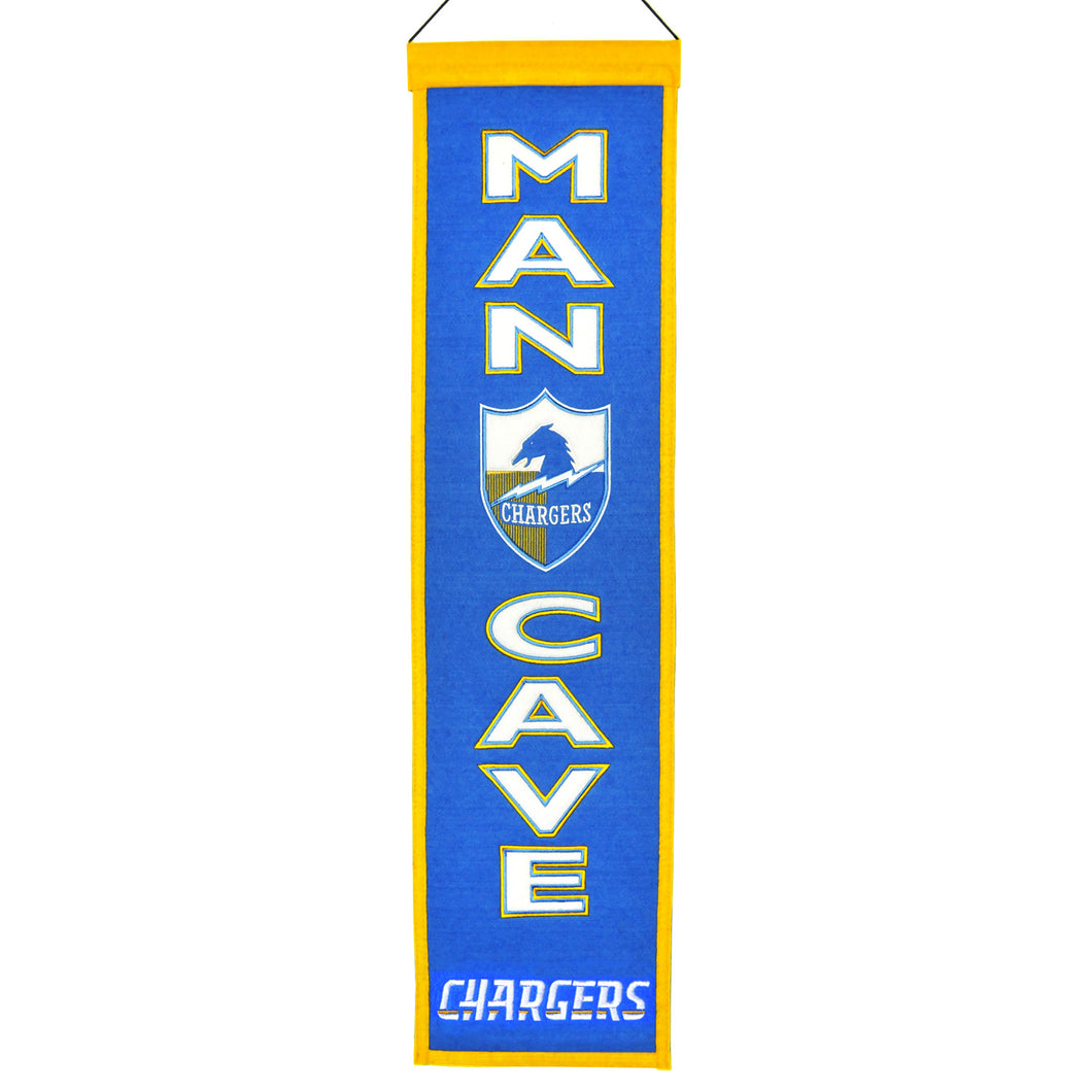 Los Angeles Chargers Man Cave Banner - 8