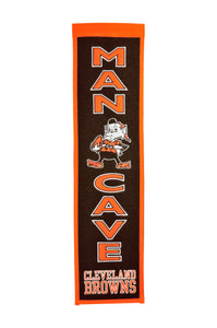 "Cleveland Browns Man Cave Banner - 8""x32"""