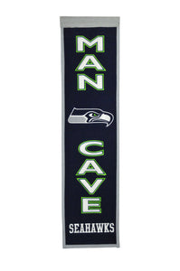 "Seattle Seahawks Man Cave Banner - 8""x32"""