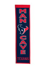 "Houston Texans Man Cave Banner - 8""x32"""