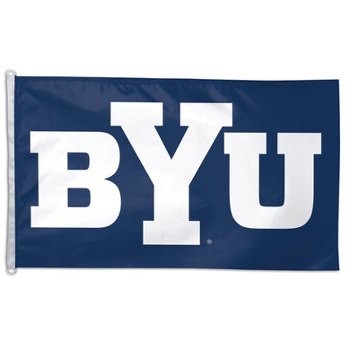 byu cougars flag, brigham young cougars flag, brigham young university flag