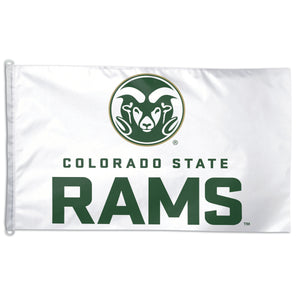 csu rams flag, colorado state rams flag
