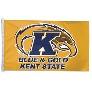 kent state university flag, kent state golden flashes flag