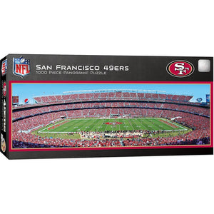 San Francisco 49ers Panoramic Puzzle