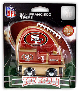 san francisco 49ers train, 49ers toy train