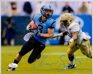 Ryan Switzer North Carolina Tar Heels Signed 8x10 #4