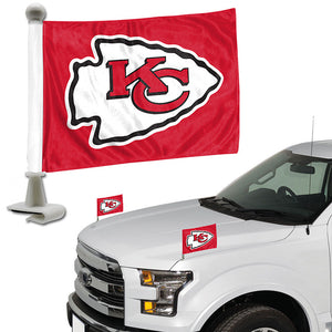 kc chiefs car flag