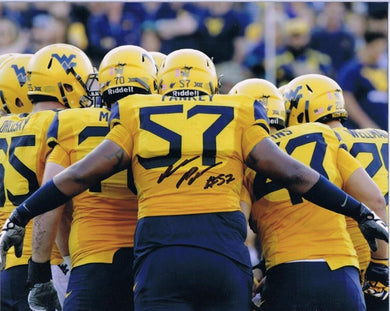 College football memorabilia Adam Pankey WVU signed 8x10 photo from Sports Fanz