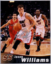 jason williams white chocolate autograph