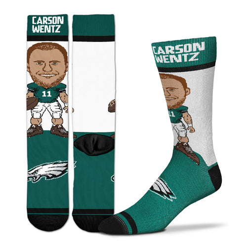 Carson Wentz Philadelphia Eagles Youth Socks
