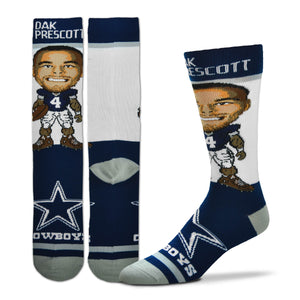 Dak Prescott Dallas Cowboys Youth Socks