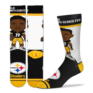 JuJu Smith Schuster Pittsburgh Steelers Youth Socks