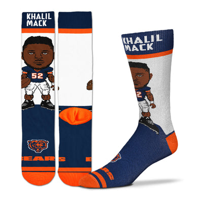 Khalil Mack Chicago Bears Youth Socks