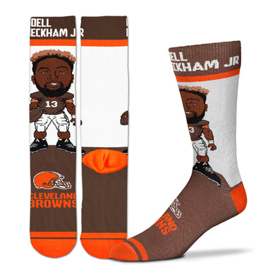 Odell Beckham Jr Cleveland Browns Youth Socks, OBJ Youth Socks