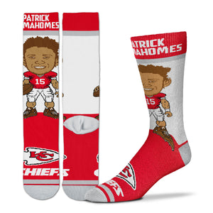Patrick Mahomes Kansas City Chiefs Youth Socks
