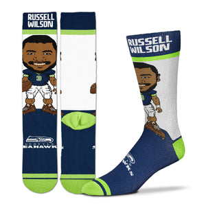 Russell Wilson Seattle Seahawks Youth Socks