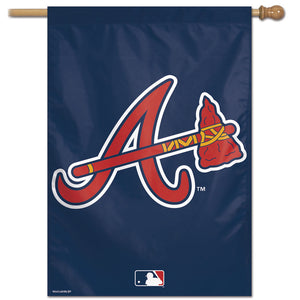 "Atlanta Braves Vertical Flag - 28""x40"""