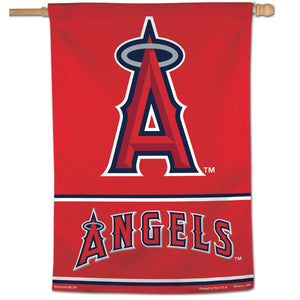 "Los Angeles Angels Wordmark Vertical Flag - 28""x40"""