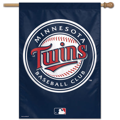 Minnesota Twins Vertical Flag - 28