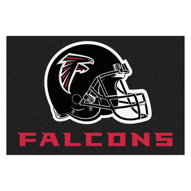 Atlanta Falcons All Star Fan Mat, NFL Floor Mat