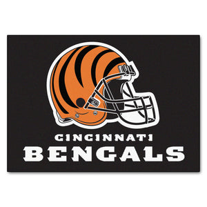 Cincinnati Bengals All Star Fan Mat, NFL Floor Mat