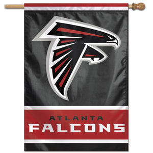 "Atlanta Falcons Vertical Flag - 28""x40""  #1"
