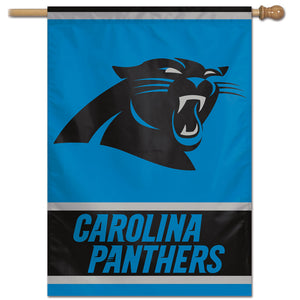 "Carolina Panthers  Vertical Flag - 28""x40"" #1"