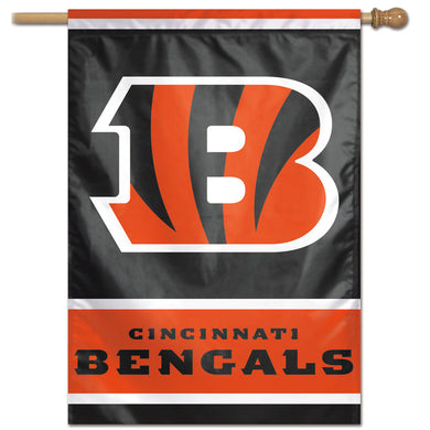 Cincinnati Bengals Vertical Flag - 28