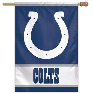 "Indianapolis Colts Vertical Flag - 28""x40""  #1"