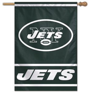 "New York Jets Vertical Flag - 28""x40"" #1"