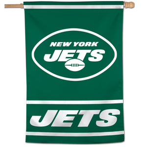 "New York Jets Vertical Flag - 28""x40"" #2"