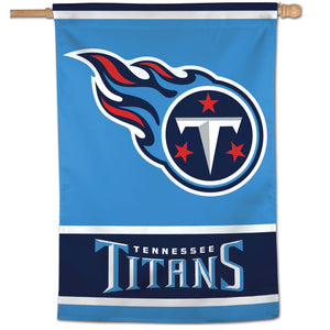 "Tennessee Titans Vertical Flag - 28""x40"" #1"
