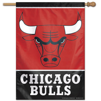 Chicago Bulls Vertical Flag 28