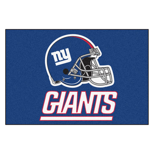 New York Giants All Star Fan Mat, NFL Floor Mat