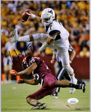 will grier autograph, will grier signature, will grier west virginia mountaineers