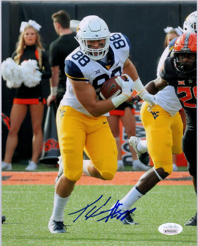 Trevon Wesco West Virginia Mountaineers Signed 8x10 Photo