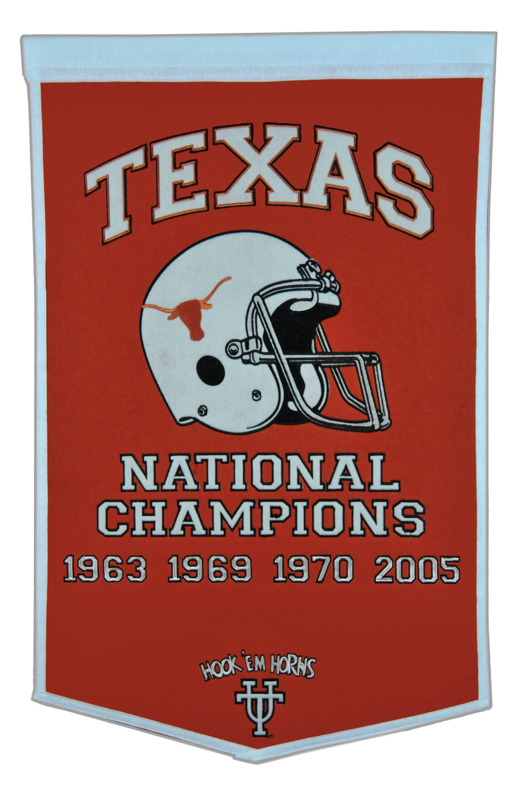Texas Longhorns Dynasty Wool Banner - 24