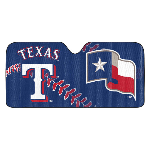 Texas Rangers Universal Car Shade