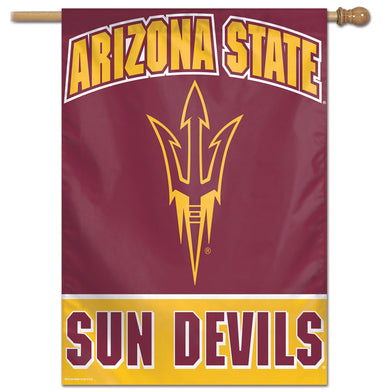 Arizona State Sun Devils Vertical Flag 28