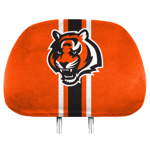 Cincinnati Bengals Team Color Headrest Covers
