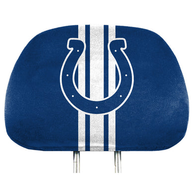 Indianapolis Colts Team Color Headrest Covers