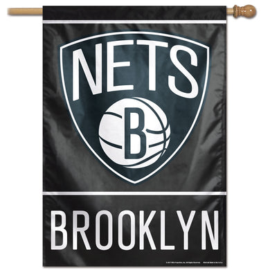 Brooklyn Nets Vertical Flag 28