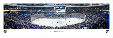 St. Louis Blues Enterprise Center Panoramic Picture