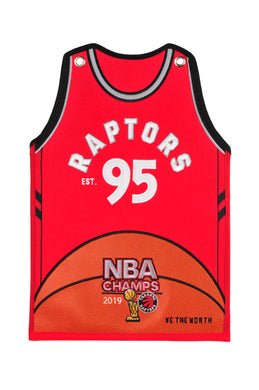 Toronto Raptors 2019 NBA Champions Jersey Traditions Banner - 20