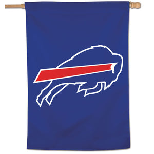 "Buffalo Bills Mickey Mouse Vertical Flag - 28""x40"""